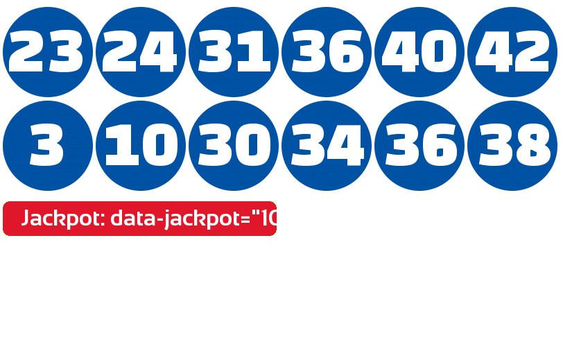 Lotto 47 results January 16, 2021